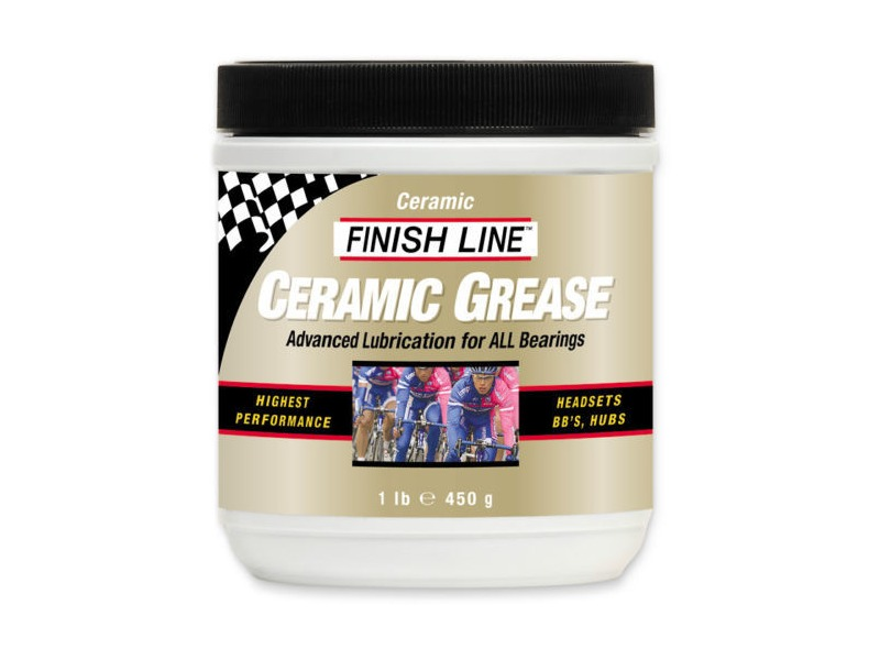 FINISH LINE Ceramic grease 1 lb / 450 ml tub click to zoom image