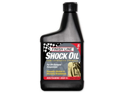 FINISH LINE Shock oil 16 oz / 475 ml (Option) 5 wt 16 oz / 475 ml Multi  click to zoom image