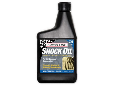 FINISH LINE Shock oil 16 oz / 475 ml (Option) 7.5 wt 16 oz / 475 ml Multi  click to zoom image