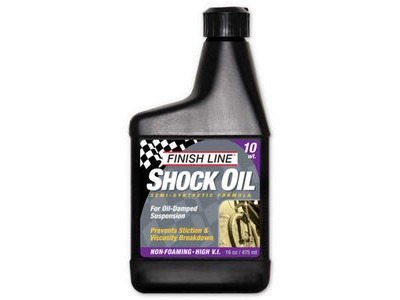 FINISH LINE Shock oil 16 oz / 475 ml (Option) 10 wt 16 oz / 475 ml Multi  click to zoom image