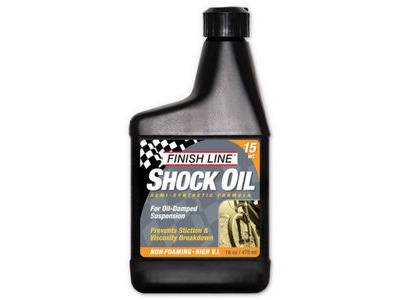 FINISH LINE Shock oil 16 oz / 475 ml (Option) 15 wt 16 oz / 475 ml Multi  click to zoom image