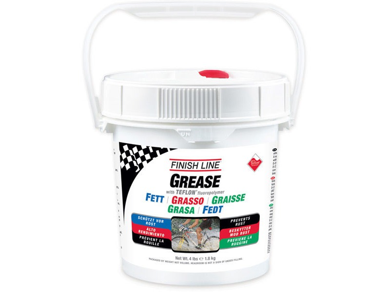 FINISH LINE Teflon grease 4 lb / 1.8 kg pail click to zoom image