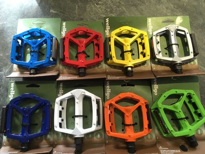WELLGO Alloy Pedals DX Type With Boron Axle 9/16""