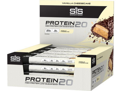 SIS Protein20 high protein bar 1 x 55g Bar  Vanilla Cheesecake  click to zoom image