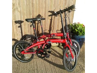 SOUTHWATER CYCLE HIRE Folding bike 4 Hours